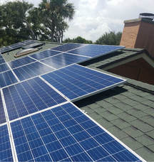 Reinstallation of Solar Panels Daytona Beach, FL